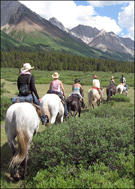 Rocky Mountain Adventures Horseback Riding